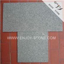 Flamed/Exfoliaed Finish Cheap China Granite Tiles for Sale,Unpolished Granite Tiles,Granite Tile on Sale,Polular Zhangpu Dark Green G612 Granite Tiles & Slabs,Granite Flooring,Grabnite Wall Covering