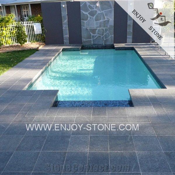 Fujian Black Granite Swimming Pool Tiles for Sale,Swimming ...
