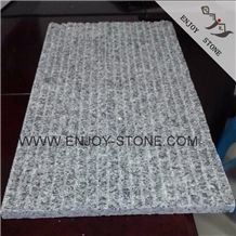 Half Planed Finish Chinese G603 Granite,Absolute White,Super White,Ash Grey Light Gray Granite,Bianco Crystal Granite Tiles & Slabs for Walling and Flooring
