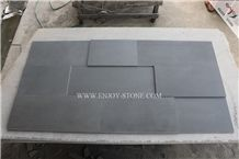 Honed Finish Chinese Grey Basalt Stone Cut to Size Tiles,Slabs & Pavers for Wall Cladding,Buliding Stone,Wall Tiles for Garden Pavements and Building Stones,Composited Basalt 3d