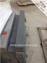 Honed Zhangpu Grey Basalt Stairs&Steps,Basalto Indoor&Outdoor Deck Stairs,Stair Treads