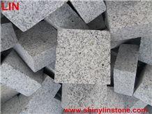 G603 Granite Cobble, Granite Split Cobblestone G603, G603 Grey Granite Cobblestone