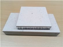 Beige Marble Composite Natural Stone Honeycomb Panel,Tiles