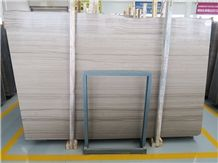 Glory Grey Wooden Marble Quarry Owner China Supplier Factory Elegant Wooden Grain Marble Slabs & Tiles