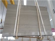 Glory Wooden Marble Quarry Owner China Factory Grey Elegant Wooden Grain Marble Blocks Slabs Tiles Strips Polished Surface