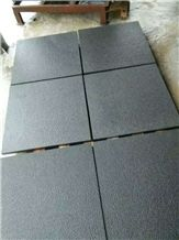 Hainan Black Granite Garden Stepping Pavements