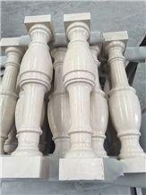 Volakas Marble Balustrade, Marble Handrail