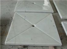 White Marble Shower Trays