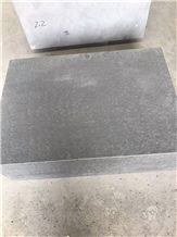 New G684 Black Basalt Flamed Surface and Sides Sitting Blocks Curb Elements