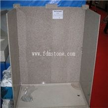 Cheap Red Granite Polished Bathroom Granite Tub Surround for Hotel Project