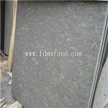 China Mongolia Black Basalt Flamed Walling and Flooring Tiles,Flamed Patio Paving Tiles