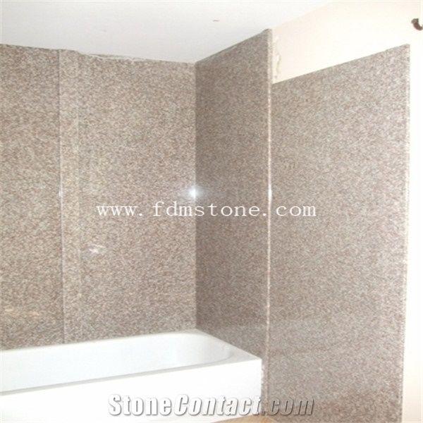 Granite Shower,Shower Wall Pannel,Stone Tub Surrounds,Bathroom Decoration