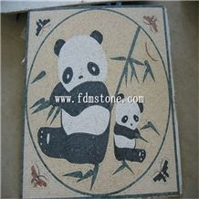 Marble Mosaic Art Works,Mosaic Pictures,Stone Art,Mosaic Art Design,Granite Stone Wall Mural