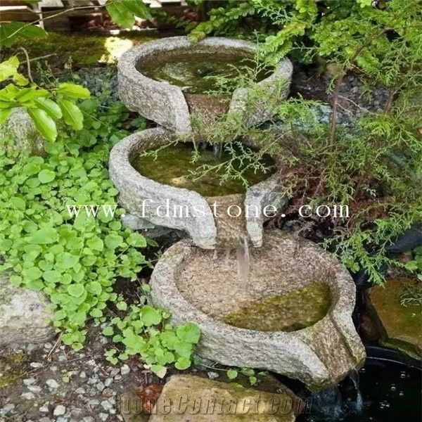 Natural Stone Water Fountainer, Garden Water Fountain For Garden And  Landscaping