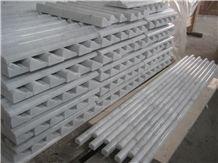White Marble Molding Border Skirting