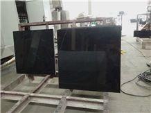 China Black Marquina/ Nero Marquina Absolute Black Marble Oriental Black Absolute Black China Marble Tile Price