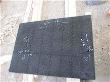China Hebei Black Granite Tiles Wall Covering