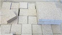 Rusty Granite G682 Bush Hammered Pavers Floor Covering