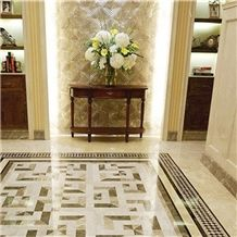 Customized Marble Flooring Design Floor Pictures Border Designs For Hall