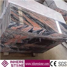 Multicolor Red Lowes Stepping Stones, Chinese Red Granite Stair Steps, Volcano Red Anti-Slip Strip for Stairs