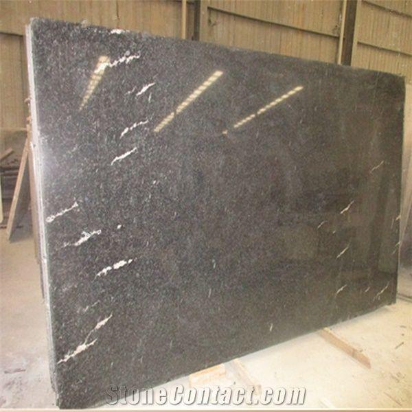 China Origin Snow Grey Polished Granite,Via Lactea Granite For Countertop And Bath Top,Deep