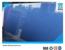 Quartz Slab Pure Blue, Quartz Stone Slab, Quartz Surfaces, Quartz, Cut-To-Size Quartz Tiles for Kitchen Bathroom Decoration