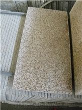 Chinese Cheapest Price G682 Cut To Size/Rusty Yellow Granite Slabs/China  Sunset Gold
