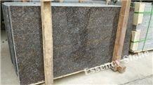 Polished China Coffee Brown Granite Tile