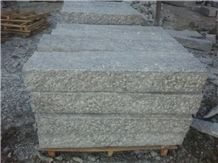 G602 Granite, Alternative Of G603,China Grey Sardo,Mayflower Snow,Padang Champagne,Plum Blossom White,Chinese Sardini Grey,Cristallo Grigio,New Bianco Sardo Picked/Pineappled Curbs Kerbstones