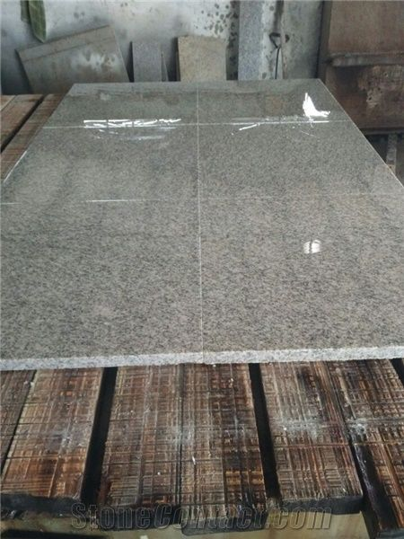 China Grey White Color G603 Granite Tile Slab Polish Surface Edge Cut Floor Covering Uniform Best Quality Large Stocks Outdoor Flooring Tiles