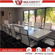 High Quality Office Furniture New Design Artificial Stone Conference - Stone conference table