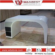 Luxurious First Class Artificial Stone Office Conference Table , Luxury Conference Table ,Luxury Office Desk