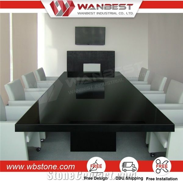 Stone Conference Table Furniture Power Outlet Online Wanbest - Stone conference table