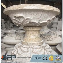G682 China Yellow Granite Outdoor Landscaping Planters /Flower Pot