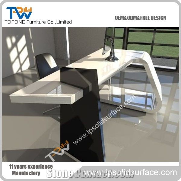 Artificial Marble Stone Executive Office Desk Furniture with ...