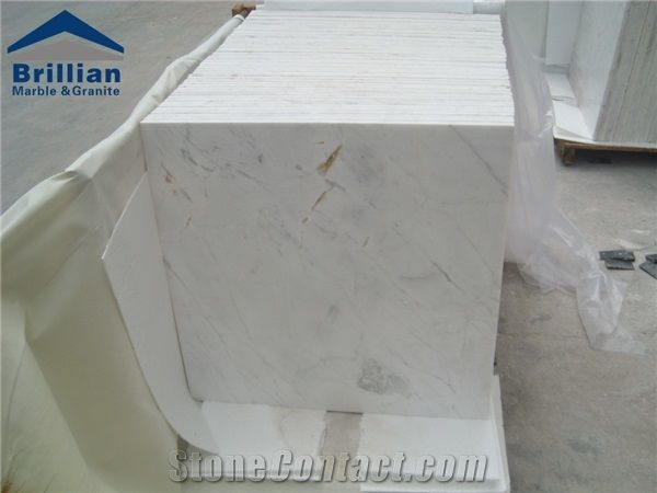 Bianco Carrara White Marble TilesWhite Carrara Marble Floor - Carrara marble tile sizes