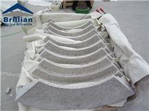 G657 Curved Border Line,Grey Granite Mouldings,Polished Granite Rope Moldings/Chinese Granite Skirtings/Granite Ogee Moldings/Curved Granite Skirtings,Curved Border Line,Granite Trim, Pencil Liners