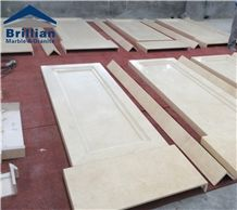 New Cream Marfil Marble Column Tiles,Beige Marble Column Surroundings,Marble Wall Cladding Columns,New Cream Paw Marble Side Columns,Hotel Marble Columns,Church Marble Pedestal Columns,Column Tops