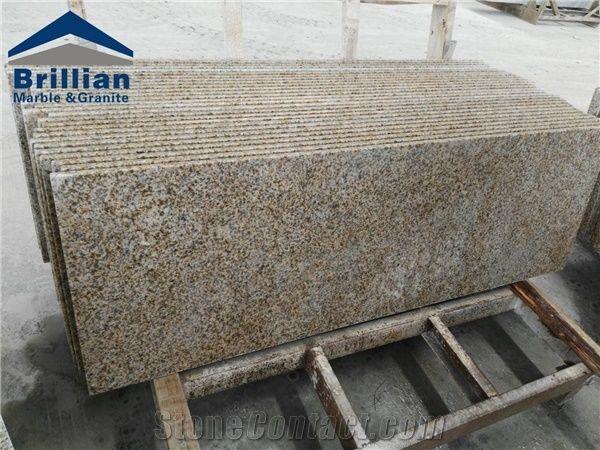 Rustic Yellow Granite Countertops,Zhangpu Rust Granite Kitchen Countertops,Laminated  Kitchen Worktops,Yellow Granite Kitchen Bar Top,Polished Granite Custom ...