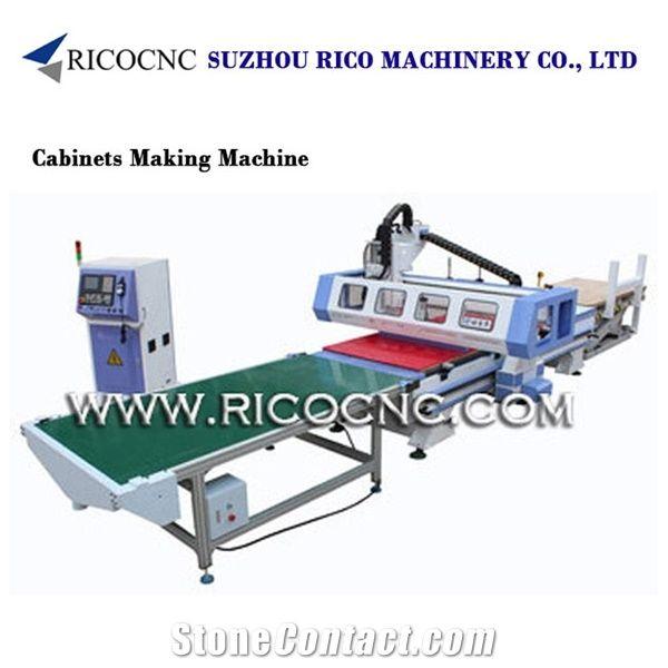 Panal Furniture Cutting Machine Kitchen Cabinets Making Cnc