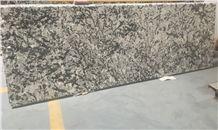 Brazil Delicatus White Kitchen Countertops/Delicatus White Kitchen Island Tops/Delicatus White Kitchen Worktops/ White Delicatus Granite/Delicatus Silver Granite/Bianco Delicatus Granite