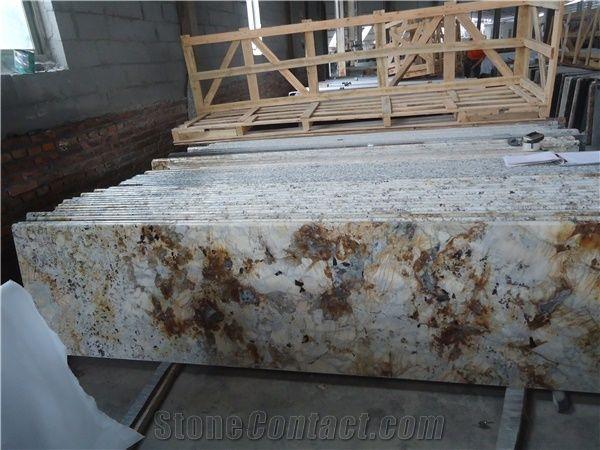 Brazil Golden Ivory Granite Countertopsgolden Ivory Graniteivory
