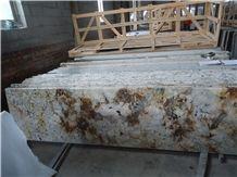 Brazil Golden Ivory Granite Countertops/Golden Ivory Granite/Ivory Gold Granite/Exotic Granite
