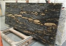 Brazil Purple Dundes Granite Ktichen Countertops/Blue Gold Granite Kitchen Top,Worktop