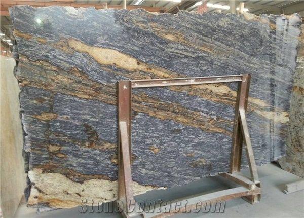 Brazil Purple Dunes Granite Slabsblue Gold Granite Slabspurple