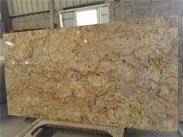 Brazil Solarius Granite Slabs Solaris Granite Granito