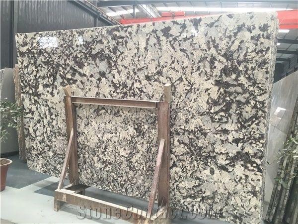 Delicatus White Granite Slabs Winter Walley Branco Delicato Silver Bianco