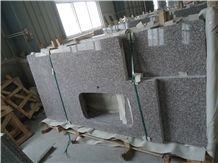 G664 Kitchen Countertops/G664 Kitchen Island Tops/Bainbrook Brown Kitchen Countertops/Misty Brown Granite/Majestic Mauve Granite/Luo Yuan Red Granite/Violet Granite/Cheapest Chinese Granite