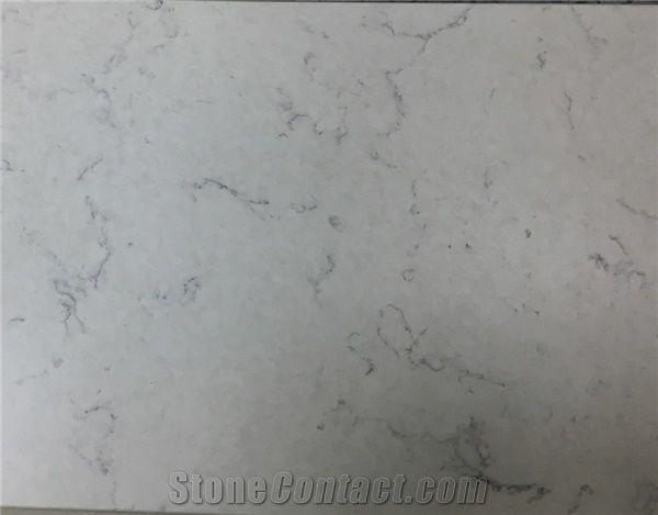 London Grey Quartz White Quartz Stone Slabs High Quality