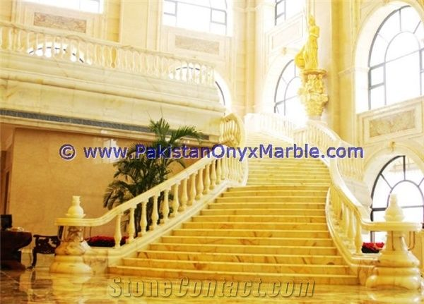 Pakistan Best Price Onyx Stair Steps, Onyx Treads And Risers Collection